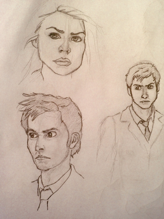 Doctor Who David Tennant sketch compilation